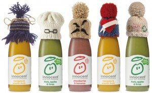 A Recipe for Success with your Start Up Food Business - image - innocent smoothie range