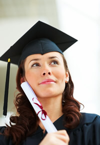 Why New Graduates make Great Entrepreneurs - image - graduate in cap holding certificate