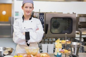 A Recipe for Success with your Start Up Food Business - image - woman chef in a kitchen