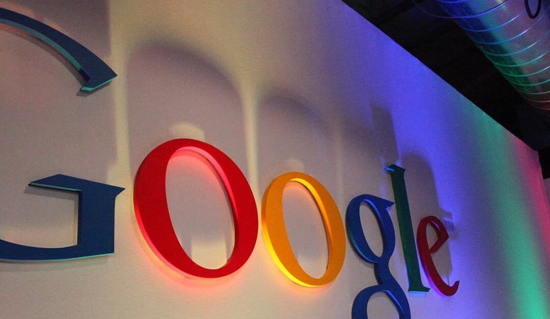 Google, Alphabet and Small Businesses: What Can We Learn? - image - Google logo sign on wall