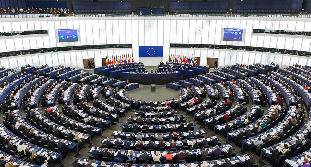 Brexit Trade Debate: Why Britain's Businesses Should Vote In - image - large circular meeting theatre