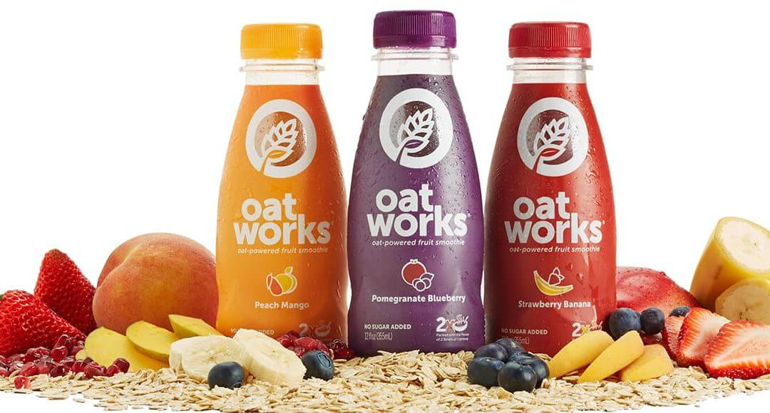 How to Fuel Yourself for Business Success - image - bottles of oatworks surrounded by fruit