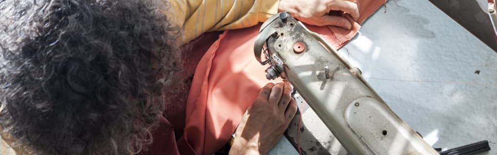 Fashion Industry Start-Ups: From the Kitchen Table to the Catwalk - image - old lady sewing clothes