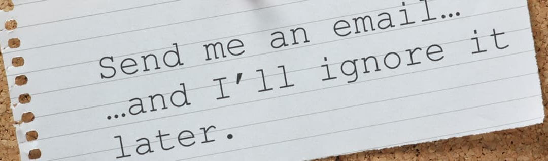 The Perfect Email Subject Line: Desirable or Essential? - image - lined paper with typewriter lettering