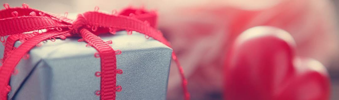 What Valentine's Day Can Teach Us About Seasonal Business - image - blue present with pink bow