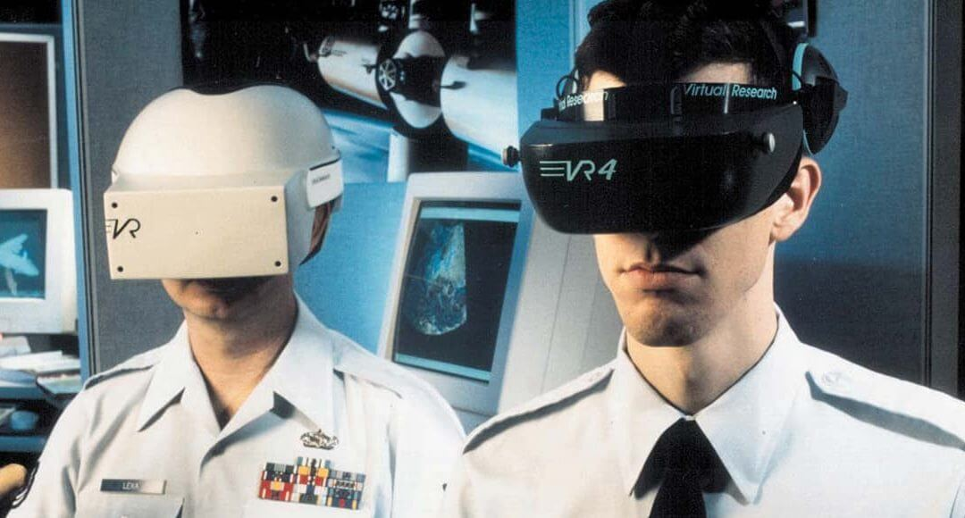Virtual Reality in Business: What Does the Future Hold? - image - Men wearing VR headsets