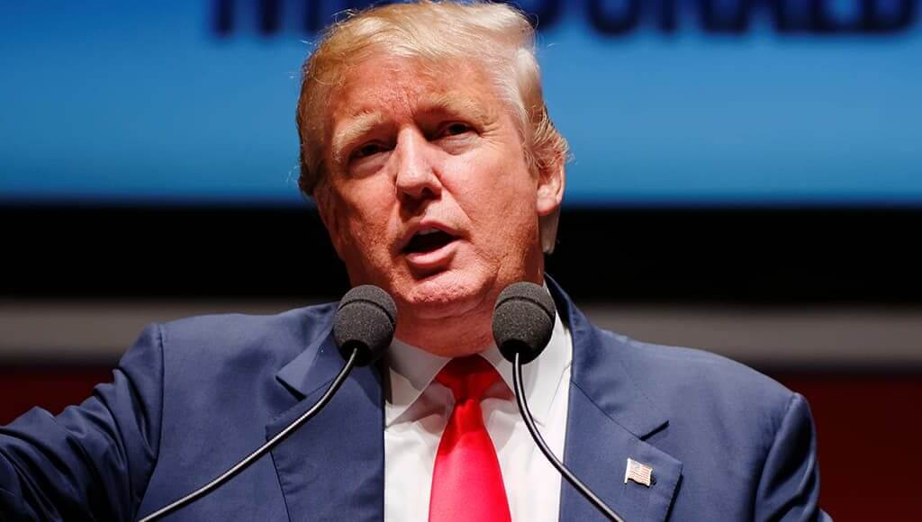 Why A Trump Presidency Might Be Great For Your Business - image - donald trump making a speech arm gesturing
